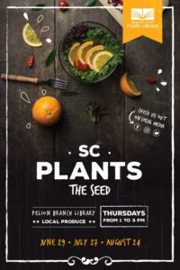 SC Plants the Seed- Pelion Library @ Lexington County Library Pelion Branch | Pelion | South Carolina | United States